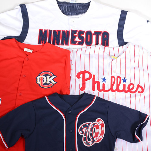 Vintage USA Baseball Jerseys Mix