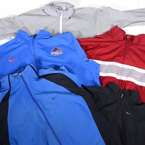 10 x Vintage Men's Nike Lightweight Jackets