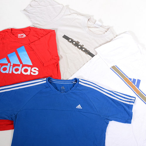 20 x Vintage Men's Adidas T Shirt Mix