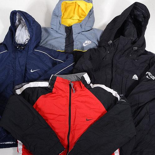 10 x Vintage Men's Nike Winter Coats