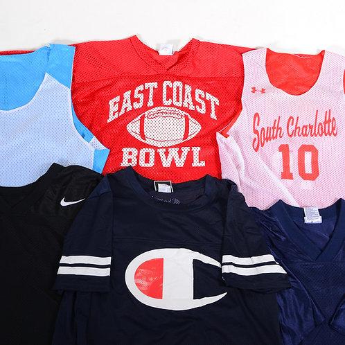 10 x Vintage USA Sports Tops & Jerseys Mix
