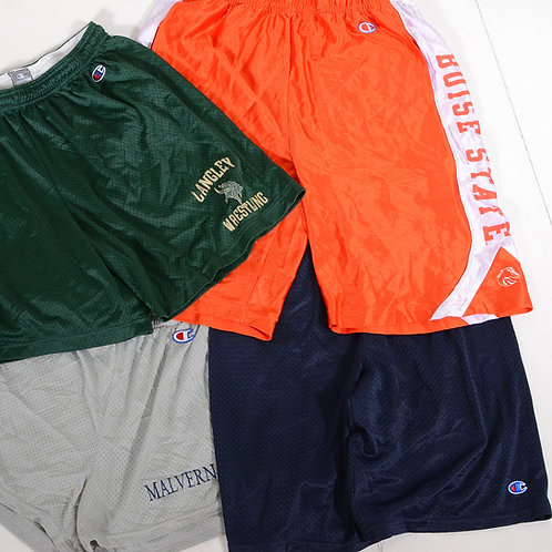 10 x Vintage Men's Champion Sports Shorts Mix