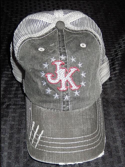 Justin Kane rustic ball cap.