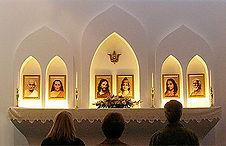 Altar em um Templo da SRF