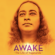 Foto da capa do Filme Awake, sobre a vida de Paramahansa Yogananda
