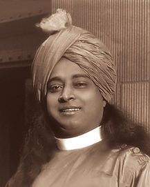 Foto de Paramahansa Yogananda com Turbante em 1920