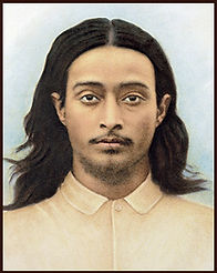Foto de Yogananda jovem, em 1917