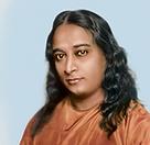 Foto de Paramahansa Yogananda - usada na capa da sua Autobiografia