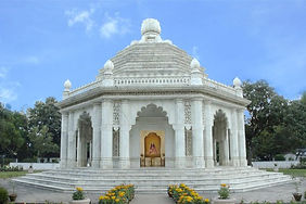 Foto do Smirit Mandir, em Ranchi, Índi