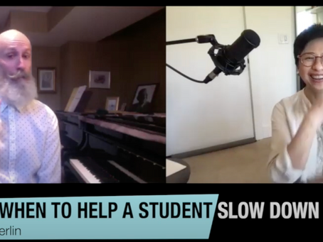 Shu-Yi & Merlin Podcast #6- How to Slow Down?