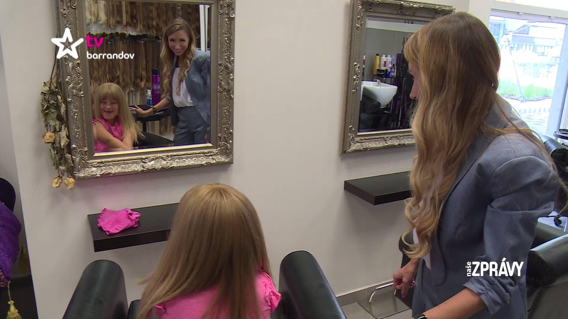 Jak obyčejné vlasy mohou neobyčejně pomáhat - Lucinka - Report...