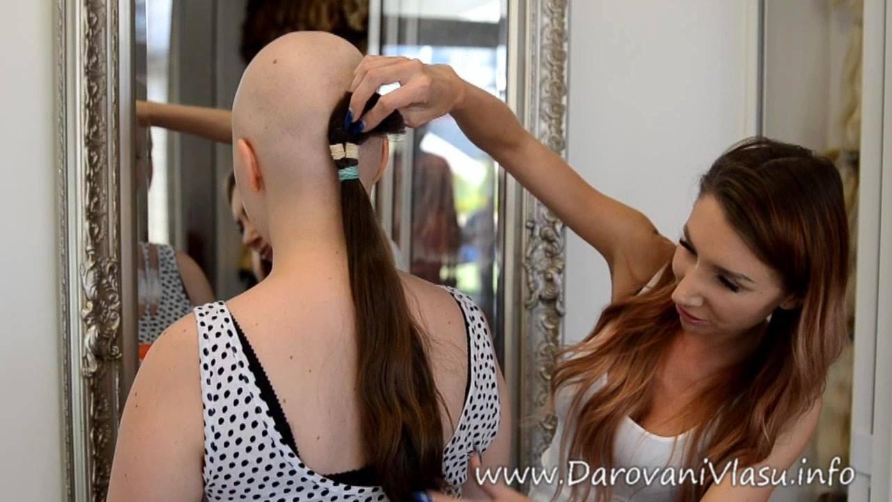 Jak mohou obyčejné vlasy neobyčejně pomáhat - měření rozměrů n...