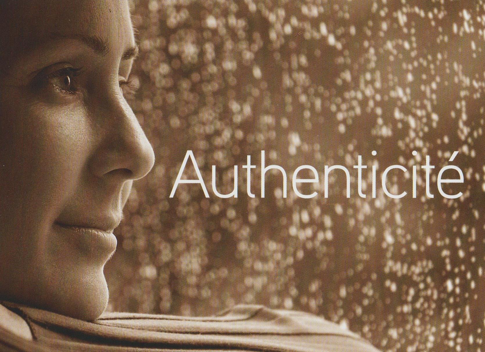 authenticité