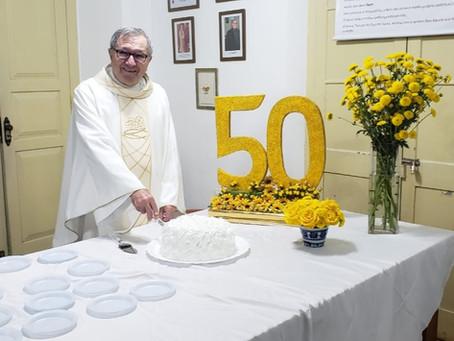 50 Anos de Ordenação Sacerdotal - Padre Valter Maurício Goedert