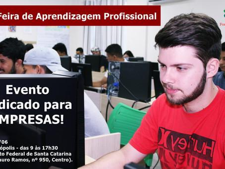 IDES participa da 1º Feira de Aprendizagem Profissional de Florianópolis