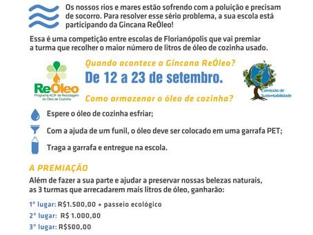 """""""Gincana ReÓleo e a Importância da Educação Ambiental"""""""