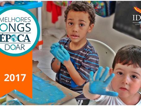 A Irmandade do Divino Espírito Santo é eleita uma das Melhores ONGs do Brasil!