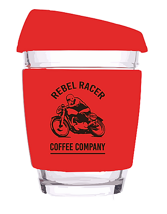 Rebel Racer Reusable Coffee Cup