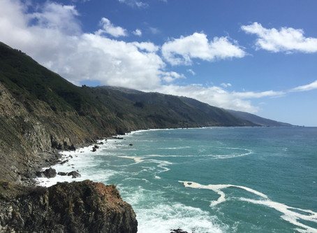 Reflections at Big Sur
