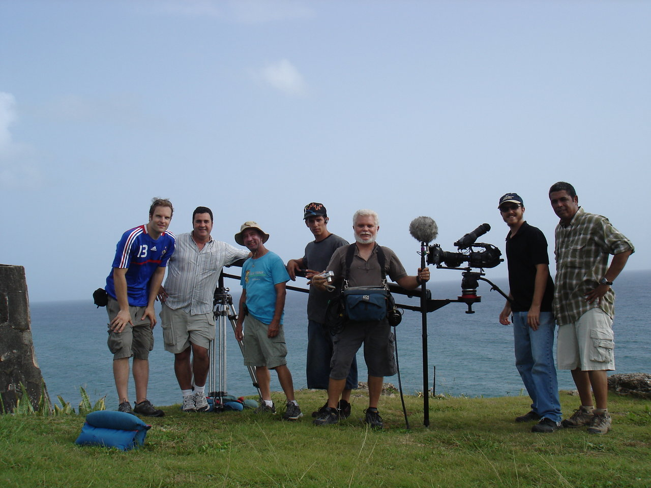 Crew of 'Rediscovering Old Ways'