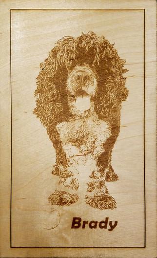 Wood etchings