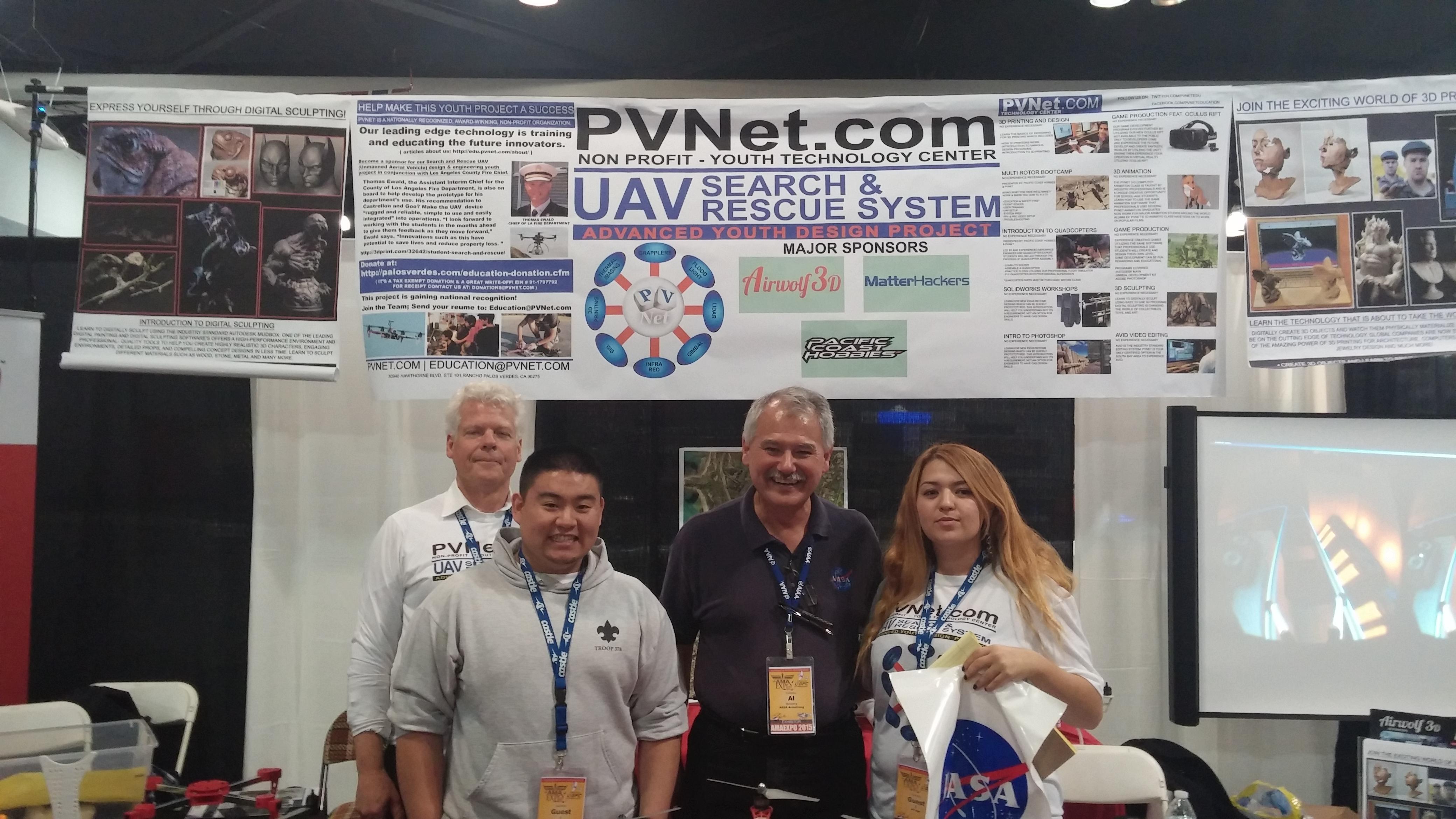 Palos Verdes on the Net: Interns: PVNet