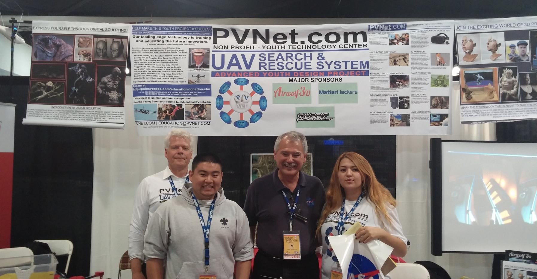Nasa and PVNet interns - 20150110_163640