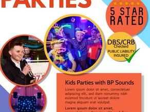 Exciting Kids Parties with BP Sounds