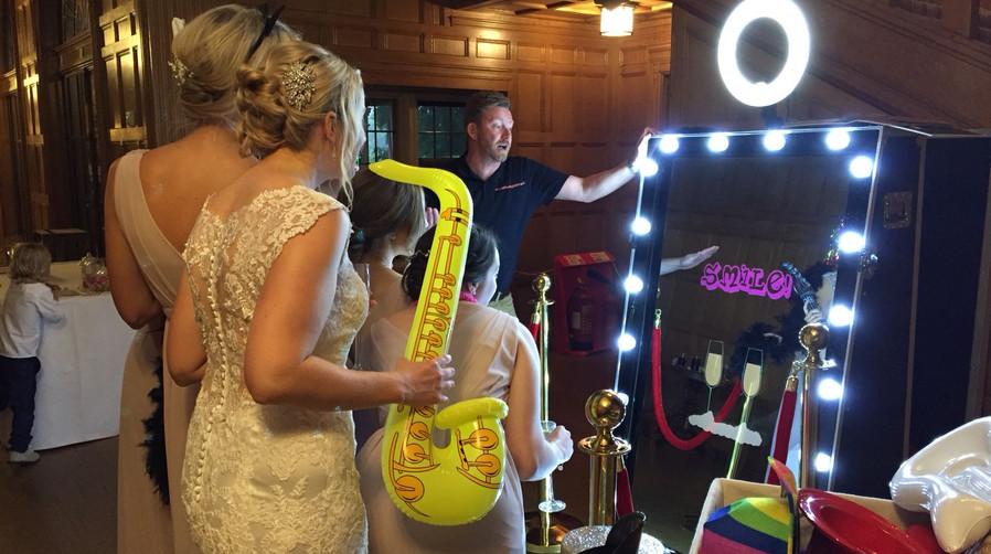 Magic Mirror Hire Taunton Yeovil Exeter Minehead