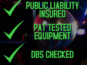 Public Liability, PAT Testing and DBS