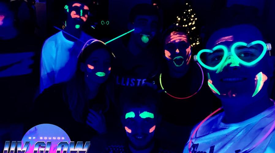 UV Glow Hire Somerset Devon DJ Hire.JPG