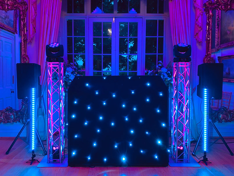 mobile disco hire wheddon cross