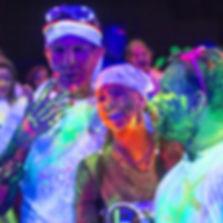 UV Glow Hire Somerset Devon