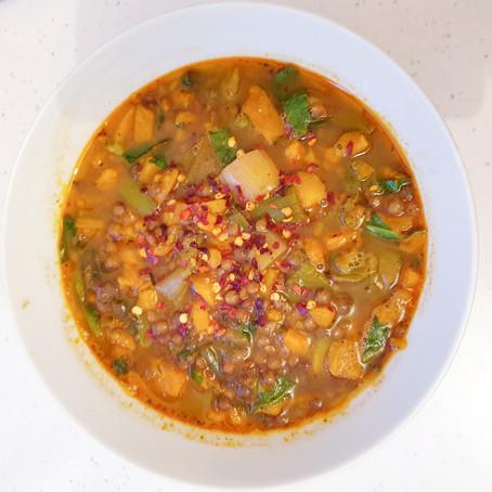 Smokin' Leek & Potato Soup