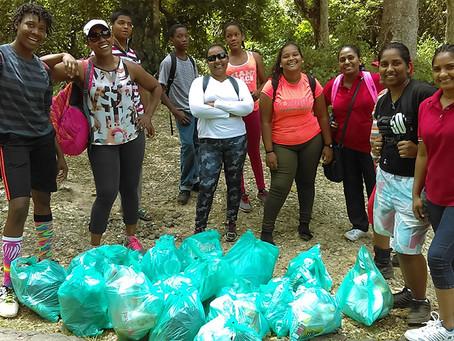 Cashew Warriors Clean Up Maracas Waterfall Trail