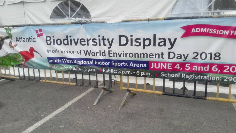 Banner for Biodiversity Display