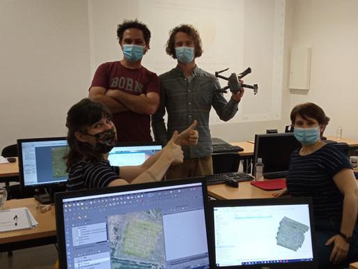 Formation : Une première réussie pour la formation drone mapping