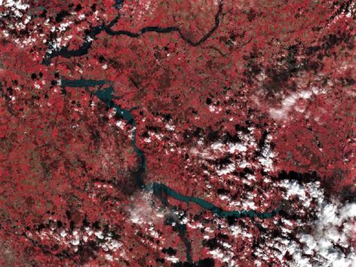 Risques : Caractérisation de crue par imageries satellitaires pour l'EPTB Charente
