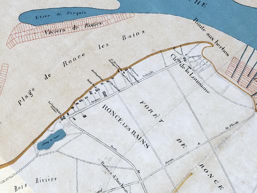 Géoréférencement de plans anciens pour la Société de Géographie de Rochefort (17)