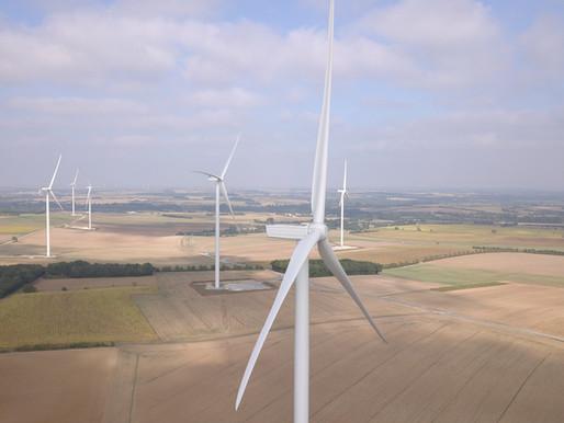 Drone : Mise en service du parc éolien de Tout Vent (17)