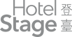Hotel Stage Horizontal Logo (Pantone423C