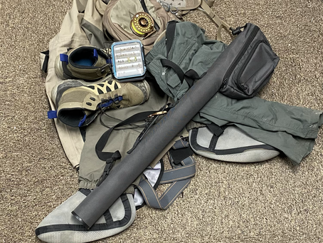 Complete Checklist of Equipment to get Started Fly Fishing