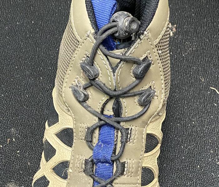 chota wading boots lace hooks