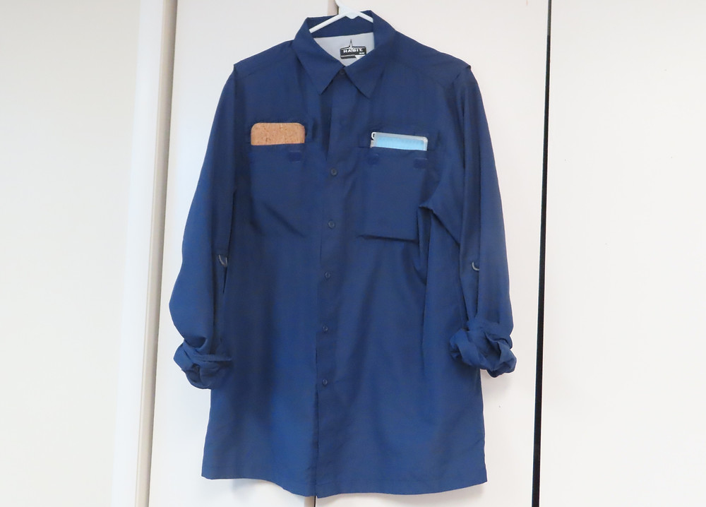 double pocket fly fishing shirt