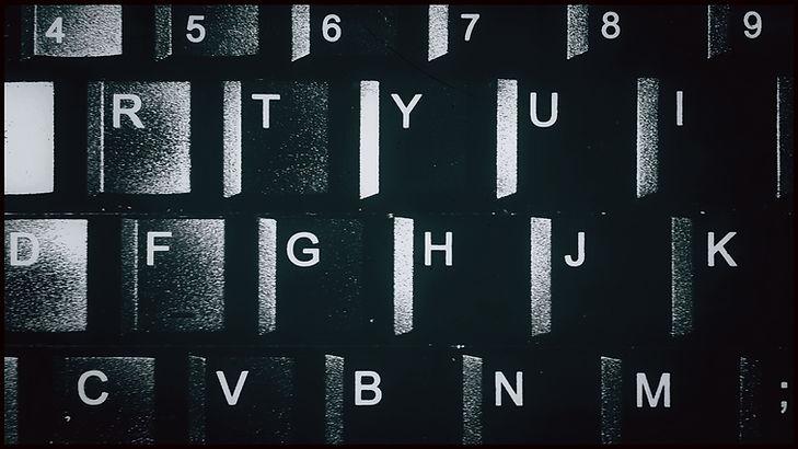 Computer Keyboard Close Up