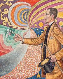 Portrait de Félix Fénéon - Signac