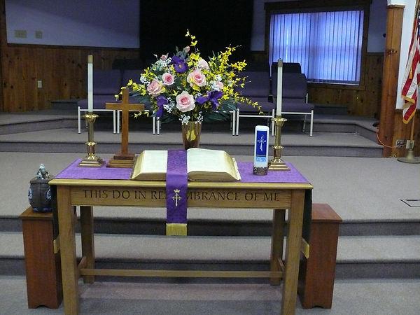 Corinth church altar.jpg