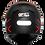 Thumbnail: Capacete GP Tech V128 Rapid   Preto com Cinza