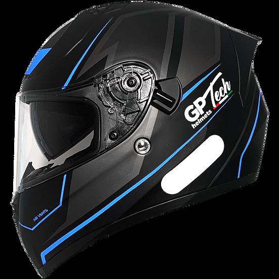 Capacete GP Tech V128 Faster | Azul