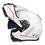 Thumbnail: Capacete GP Tech A118 ROAD Brilhante | Branco e vermelho